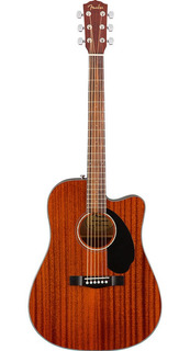 Guitarra Electroacústica Cd-60sce Fender Caoba