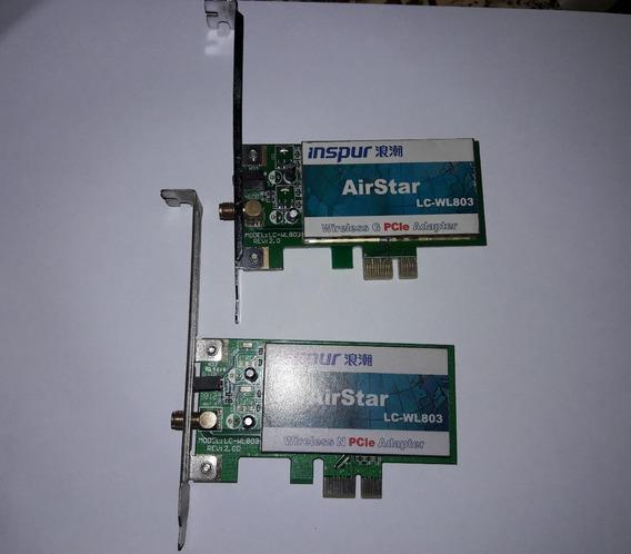 Tarjeta De Red Wife Adapter Airstar Lc-wl803 Sin Antena