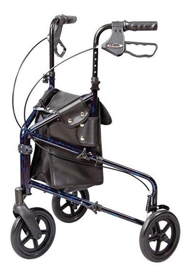 Andador Caminador Plegable Con Llantas Adulto Discapacitado1