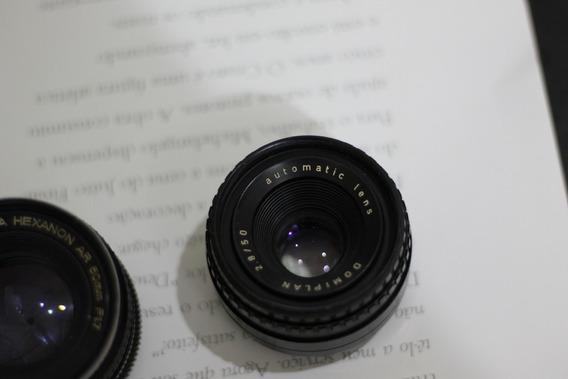 Lente Analógica Domiplan 50mm 2.8
