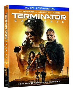 Blu Ray Terminator Dark Fate Estreno Original Dvd