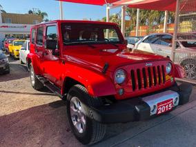 Jeep Wrangler 3.6l Unlimited Sahara V6 4x4 Aut 2015 Credito