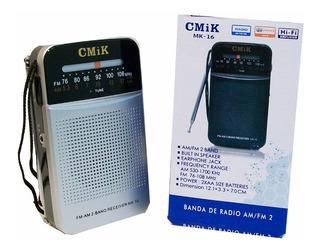 Radio Cmik Mk-16 Am Fm A Pilas