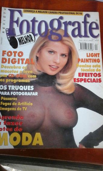 Revista Fotografe Melhor Ano 1 N 4 Dezembro 1996
