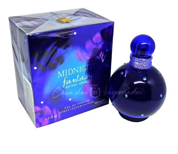 Perfume Midnight Fantasy 100ml Feminino + Amostra De Brinde