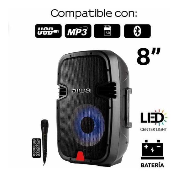 Corneta Aiwa Amplificada Bluetooth Recargable