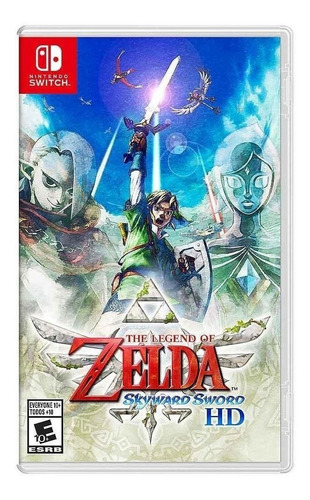 Imagen 1 de 5 de The Legend of Zelda: Skyward Sword HD Standard Edition Nintendo Switch  Físico