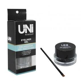 Delineador Gel Preto 24 Horas - Uni Makeup
