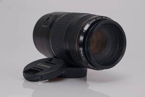 Objetiva Canon 70 300 Série Dourada Com Estabilizador