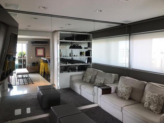 Apartamento Com 2 Dormts Sendo 1 Suíte + 2 Vagas De Garagens