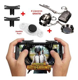 2 Botones L1r1 Arma Llavero Mobile Pubg Fortnite Free Fire