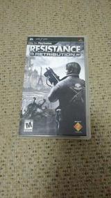 Resistance: Retribution - Psp - Original - Usado
