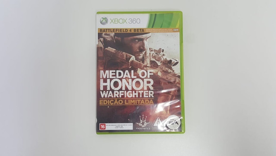 Jogo Medal Of Honor Warfighter - Xbox 360 - Original