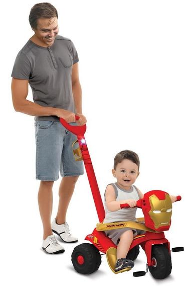 Triciclo De Passeio - Velocípede - Disney - Marvel - Iron-ma