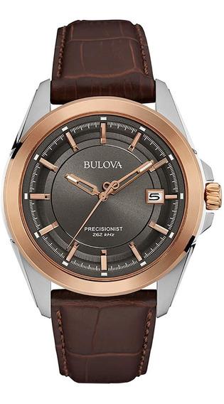 Bulova Precisionist 98b267 - 43mm - Pronta Entrega