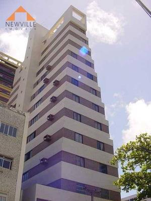 Apartamento Com 1 Quarto Para Alugar, 32 M² Por R$ 1.800/mês - Boa Viagem - Recife/pe - Ap1436