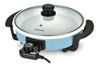 Multicocina Olla Sarten Electrica Ceramica Grill Winco W53