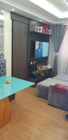Apartamento Com 2 Dormitórios À Venda, 50 M² Por R$ 220.000 - Chácara Letônia - Americana/sp - Ap0365