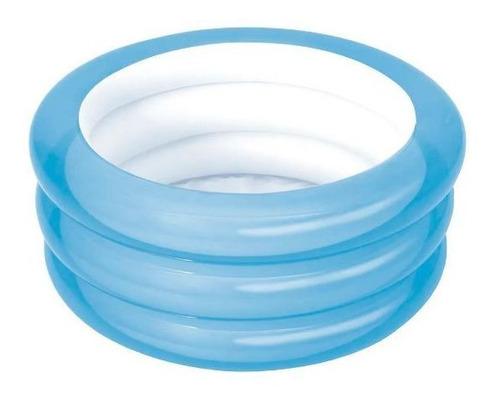 Piscina Banheira Inflável 80 Litros Mor Azul