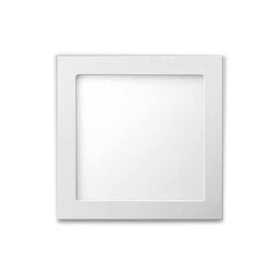 Luminária Led Quadrada Para Embutir 24w 6500k Bivolt Elgin.