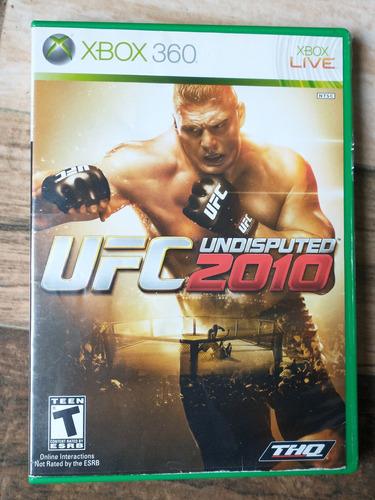 Imagen 1 de 1 de Juego Ufc 2010 O 2009 Para Xbox 360 Original