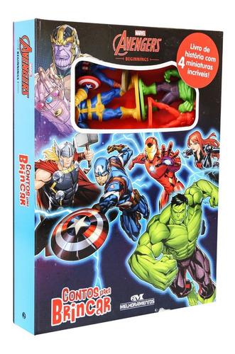 Imagem 1 de 5 de Avengers - Contos Para Brincar