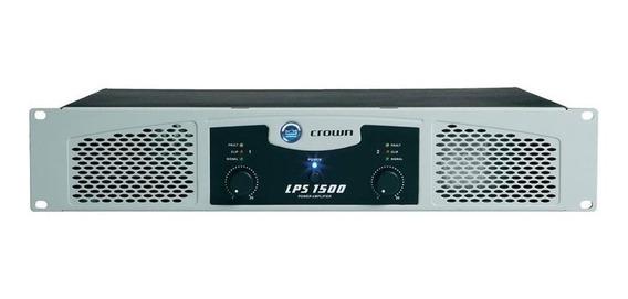 Amplificador Lps 1500 Estéreo 900w - Crown