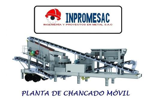 Imagen 1 de 4 de Chancadoras Y Plantas De Chancado