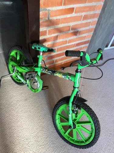 Bicicleta Caloi Ben10 Usada