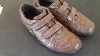 Zapatillas Merrell Urbanas Zapatos Cuero Marrón Boulogne