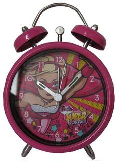 Reloj Despertador Barbie Cresko B773