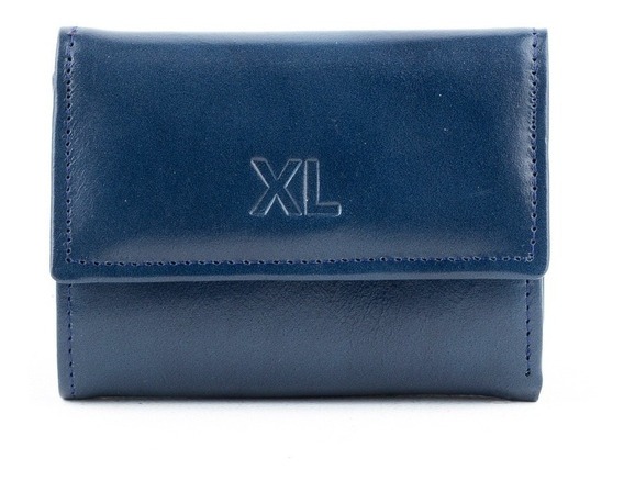 Billetera Mujer Xl Extra Large Connie Azul