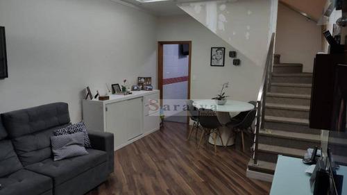 Sobrado Com 2 Dormitórios À Venda, 134 M² Por R$ 515.000,00 - Vila Caminho Do Mar - São Bernardo Do Campo/sp - So1086