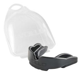 Protetor Bucal Preto Com Estojo - Vollo - Vm502-6