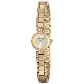 Relógio Seculus Feminino 23591lpsvda1 Social Mini Dourado