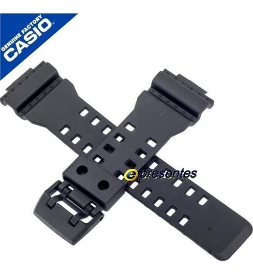 Ga-700 Pulseira Casio G-shock Resina Preta - 100% Original