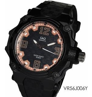 Reloj Q&q Vr56j005y Vr56j006y Maquina Japonesa 10 Atm Watch Fan Locales Shopping Palermo Saavedra