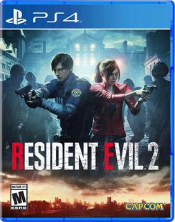 Juego Playstation 4 Resident Evil 2 Ps4 / Makkax