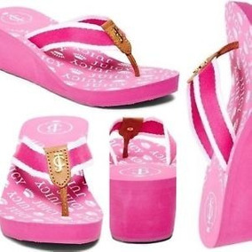 Remate Sandalias Orig. Juicy Couture Chrissty Pink Webbing