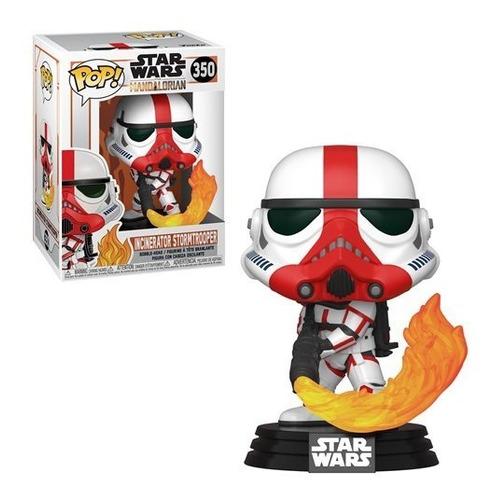 Star Wars: The Mandalorian Incinerator Stormtrooper Pop! 350