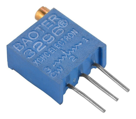 Preset Multivuelta 10k Ohms Lineal 3296 Arduino Nubbeo
