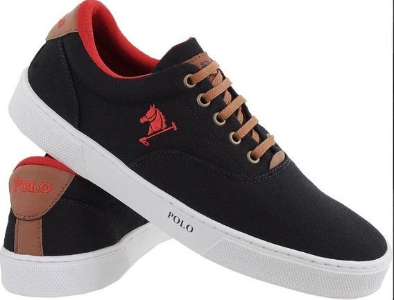 Tenis Masculino Polo Joy Original Sapato Pronta Entrega