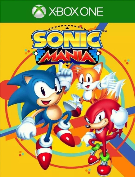Sonic Mania Xbox One Midia Digital + 1 Jogo Grátis