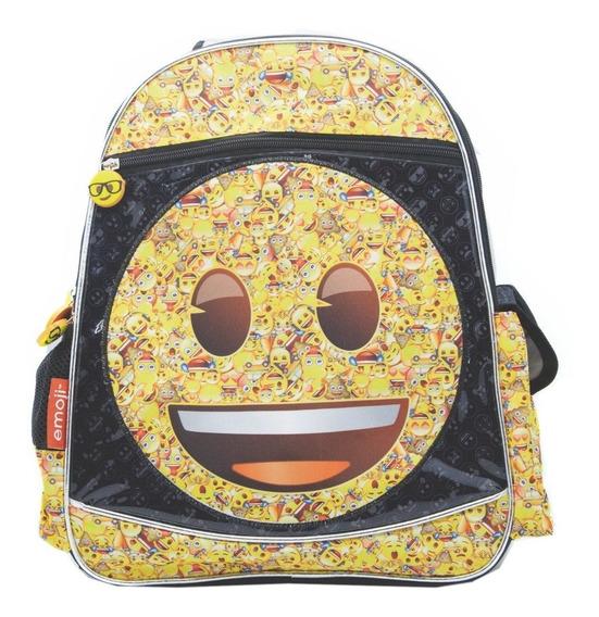 Mochila Espalda Grande 15p Emoji Emoticones #843 Mundomanias
