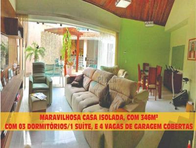 Casa Com 3 Dormitórios À Venda, 222 M² Por R$ 1.050.000 - Canto Do Forte - Praia Grande/sp - Ca2855