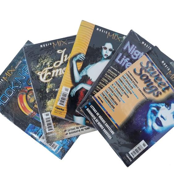 Revista Cd 5 Exemplares Music Mix Rock N