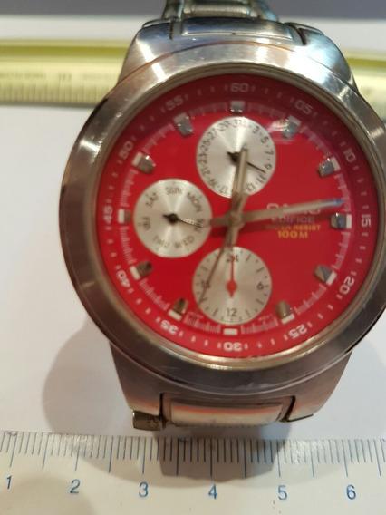 Relógio Casio Edifice Original Modelo 1794 Ef 308 Vermelho