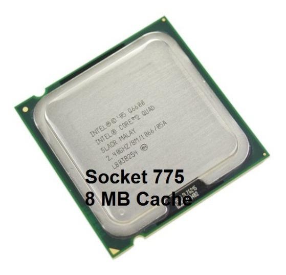 Processador Intel 775 Quad Q6600 2.40ghz Semi Novo + Cooler