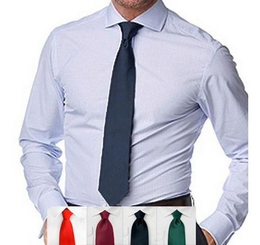 Corbata Lisa Clasica Varios Colores Ideal P Uniformes, Local