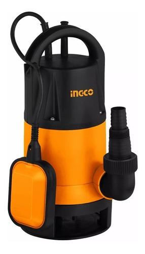 Bomba Sumergible Pozo  Negro Agua Sucia 750w Ingco